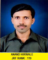 ANAND HIRWALE
